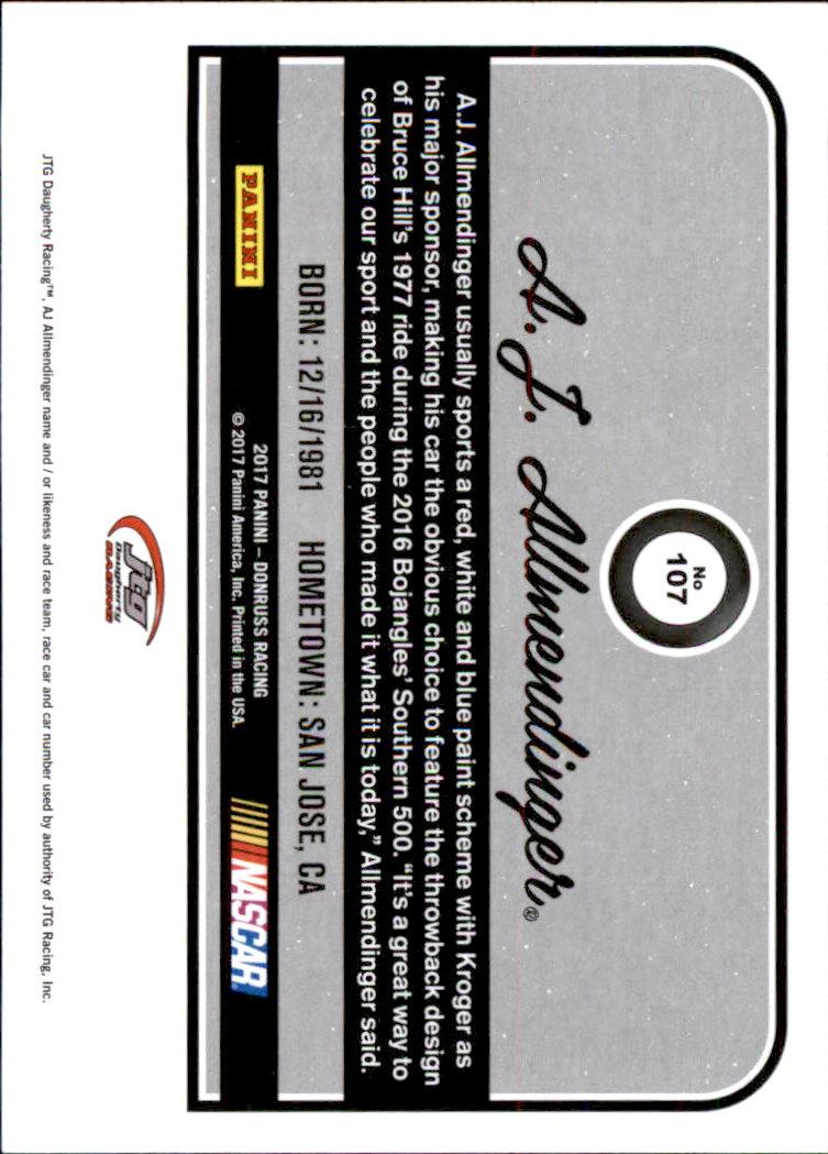 2017-Donruss-Racing-s-1-189-RCs-Inserts-A2404-You-Pick-10-FREE-SHIP thumbnail 153