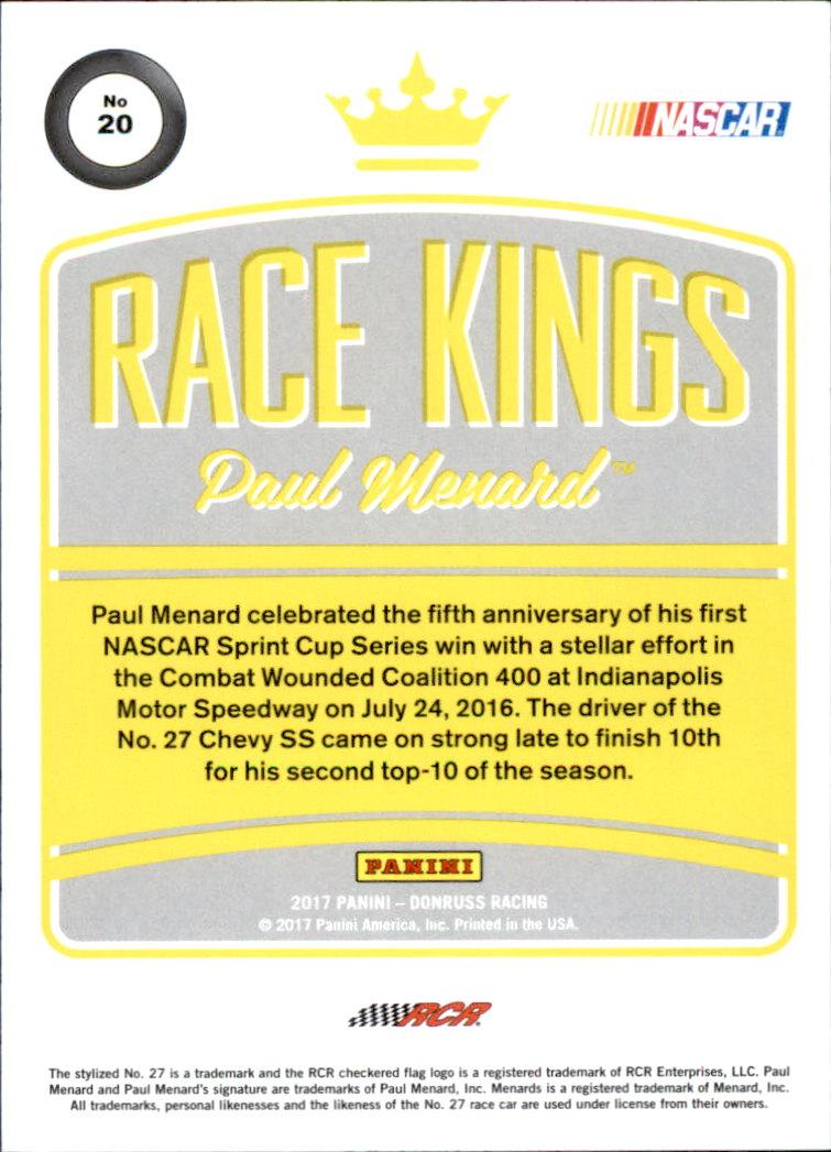 2017-Donruss-Racing-s-1-189-RCs-Inserts-A2404-You-Pick-10-FREE-SHIP thumbnail 217