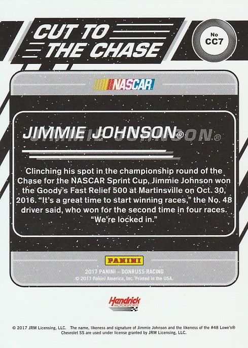 2017-Donruss-Racing-s-1-189-RCs-Inserts-A2404-You-Pick-10-FREE-SHIP thumbnail 215