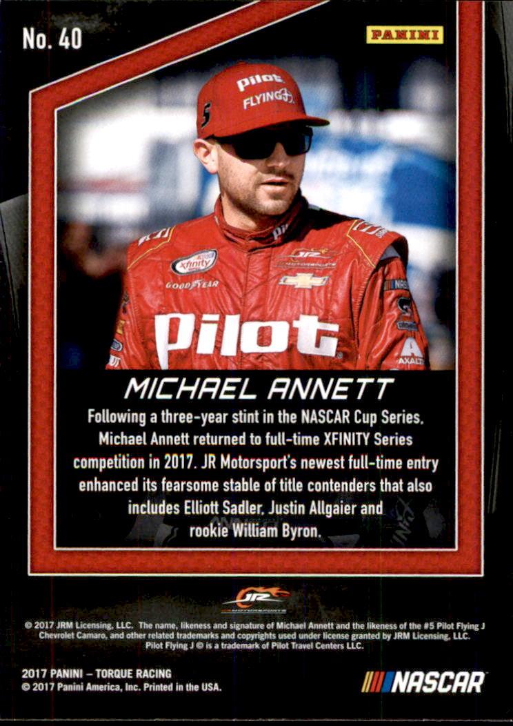 2017-Panini-Torque-Racing-Card-Pick thumbnail 49