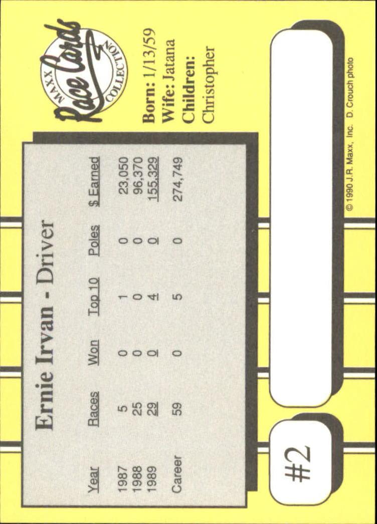 1990-Maxx-Auto-Racing-Cards-1-200-Rookies-A2695-You-Pick-10-FREE-SHIP thumbnail 5