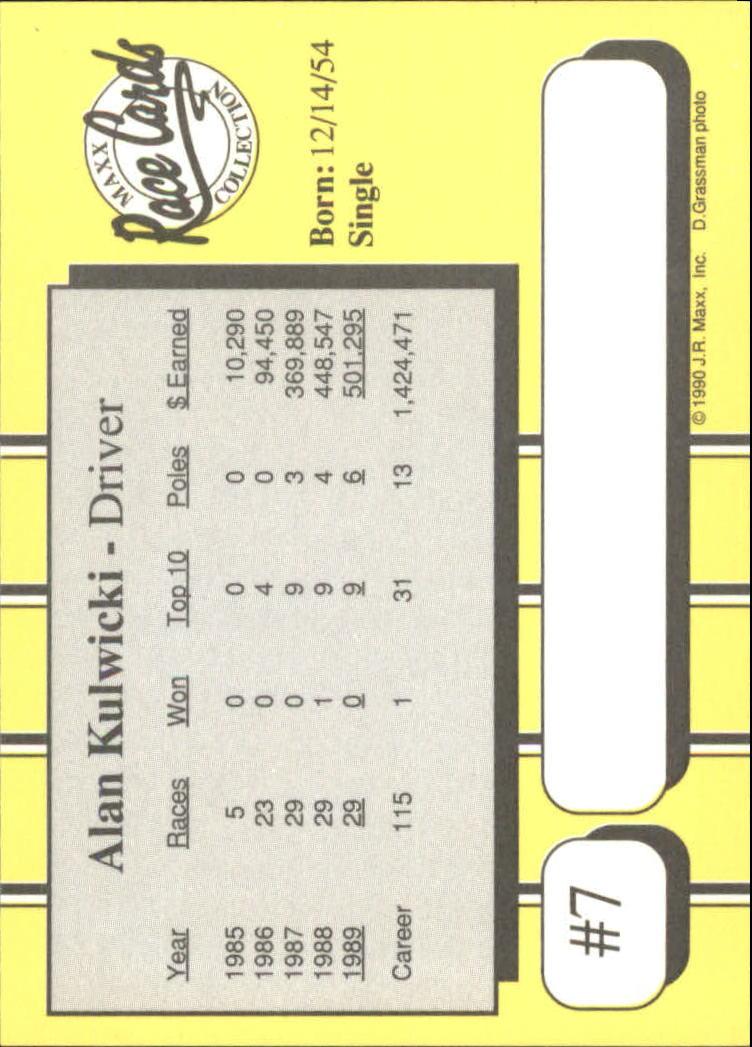 1990-Maxx-Auto-Racing-Cards-1-200-Rookies-A2695-You-Pick-10-FREE-SHIP thumbnail 15