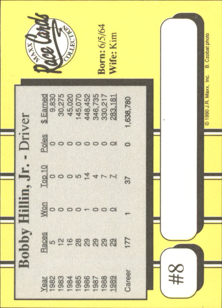 1990-Maxx-Auto-Racing-Cards-1-200-Rookies-A2695-You-Pick-10-FREE-SHIP thumbnail 17