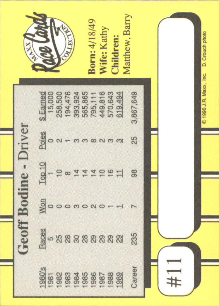 1990-Maxx-Auto-Racing-Cards-1-200-Rookies-A2695-You-Pick-10-FREE-SHIP thumbnail 23