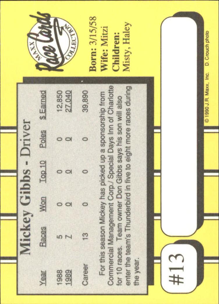 1990-Maxx-Auto-Racing-Cards-1-200-Rookies-A2695-You-Pick-10-FREE-SHIP thumbnail 27