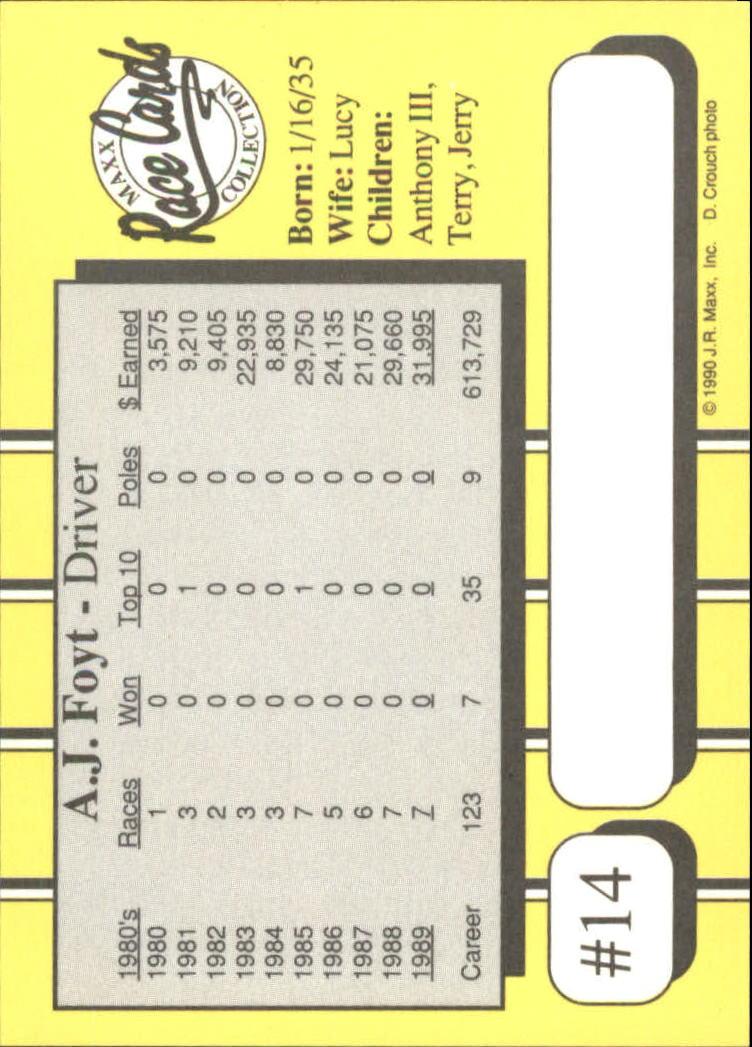 1990-Maxx-Auto-Racing-Cards-1-200-Rookies-A2695-You-Pick-10-FREE-SHIP thumbnail 29