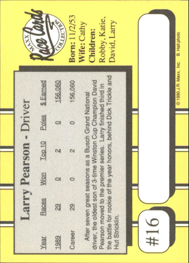 1990-Maxx-Auto-Racing-Cards-1-200-Rookies-A2695-You-Pick-10-FREE-SHIP thumbnail 33