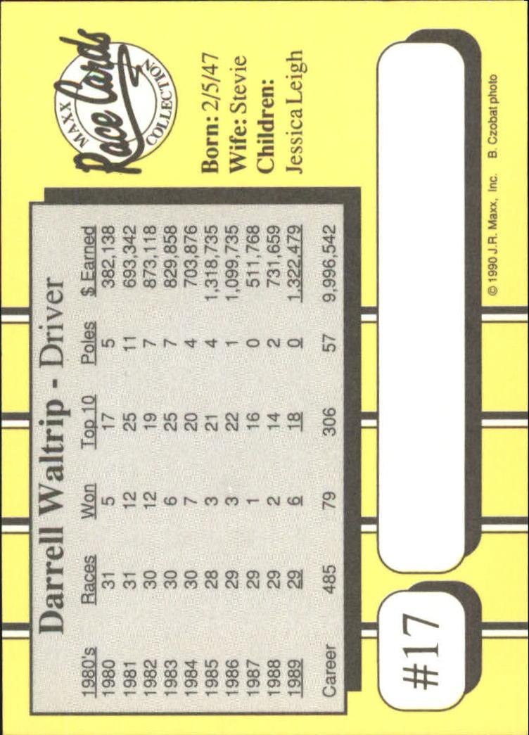 1990-Maxx-Auto-Racing-Cards-1-200-Rookies-A2695-You-Pick-10-FREE-SHIP thumbnail 35