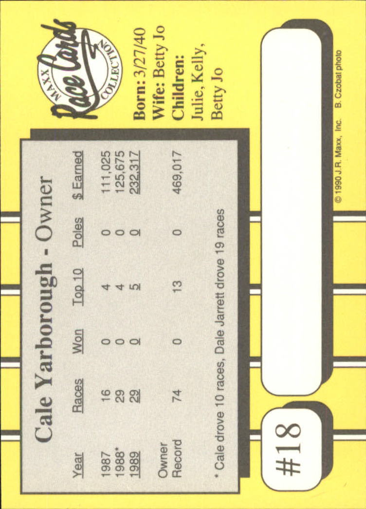 1990-Maxx-Auto-Racing-Cards-1-200-Rookies-A2695-You-Pick-10-FREE-SHIP thumbnail 37