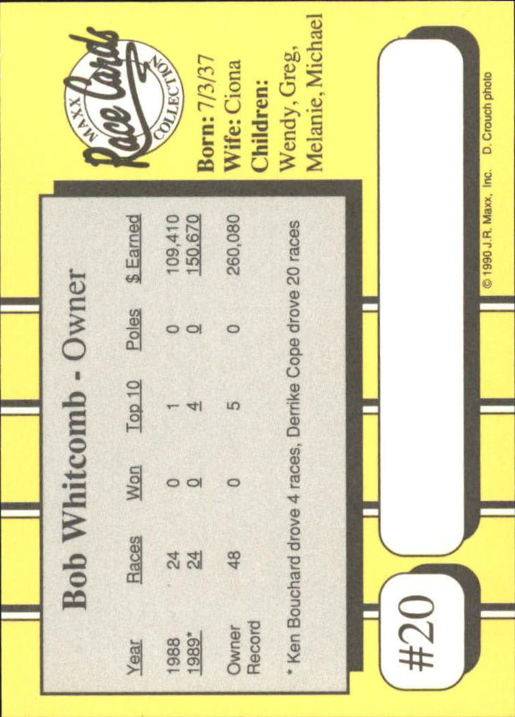 1990-Maxx-Auto-Racing-Cards-1-200-Rookies-A2695-You-Pick-10-FREE-SHIP thumbnail 41