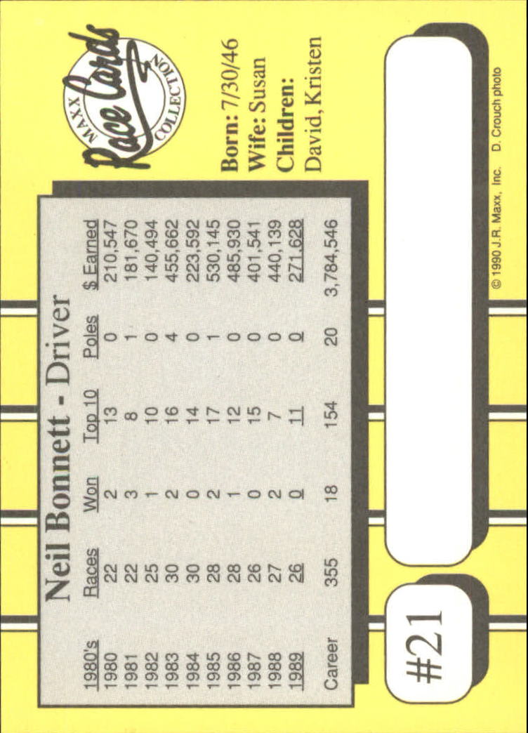 1990-Maxx-Auto-Racing-Cards-1-200-Rookies-A2695-You-Pick-10-FREE-SHIP thumbnail 43