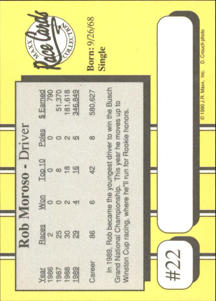 1990-Maxx-Auto-Racing-Cards-1-200-Rookies-A2695-You-Pick-10-FREE-SHIP thumbnail 45