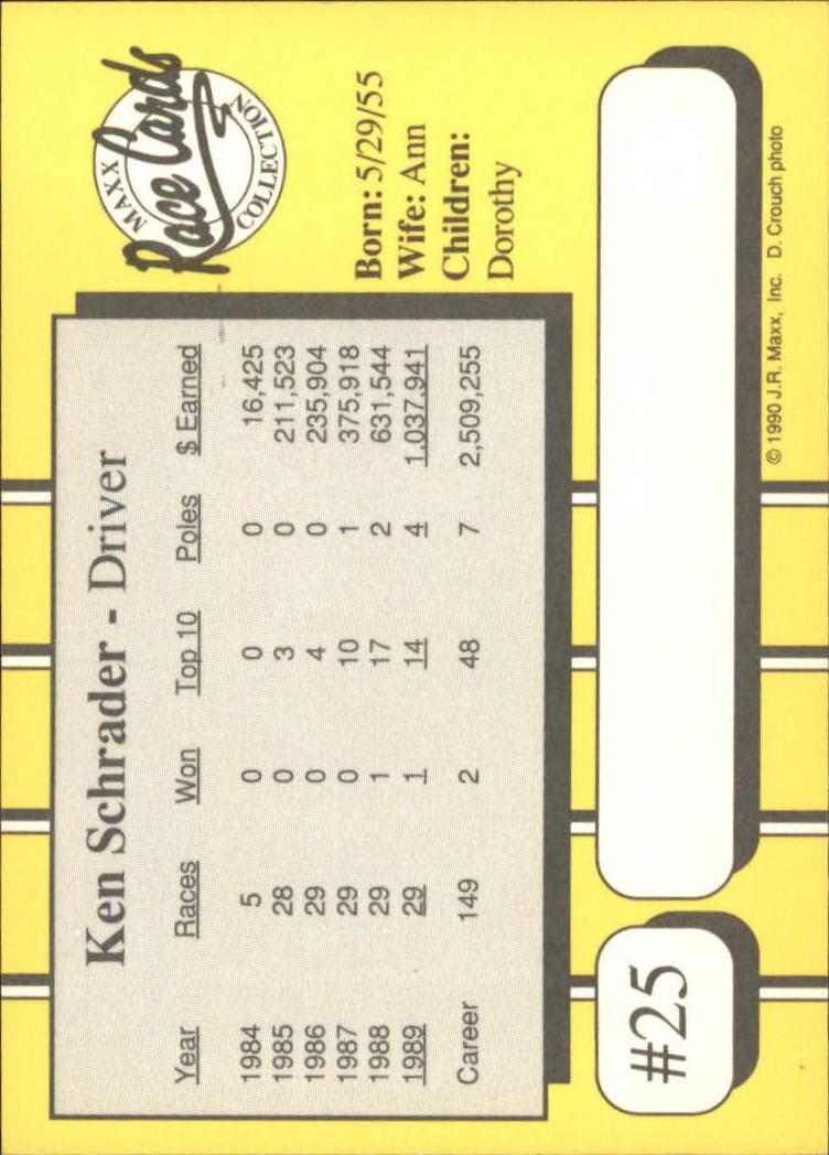 1990-Maxx-Auto-Racing-Cards-1-200-Rookies-A2695-You-Pick-10-FREE-SHIP thumbnail 51