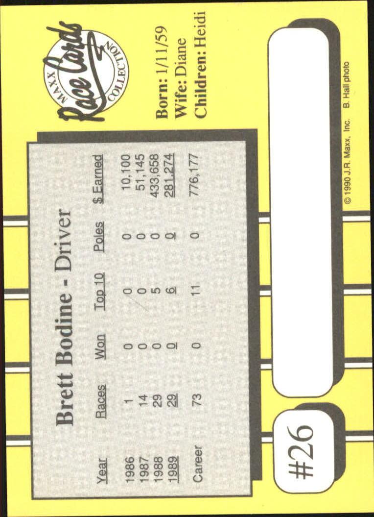 1990-Maxx-Auto-Racing-Cards-1-200-Rookies-A2695-You-Pick-10-FREE-SHIP thumbnail 53