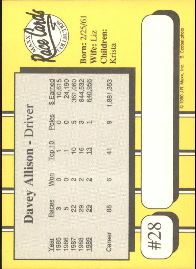 1990-Maxx-Auto-Racing-Cards-1-200-Rookies-A2695-You-Pick-10-FREE-SHIP thumbnail 57