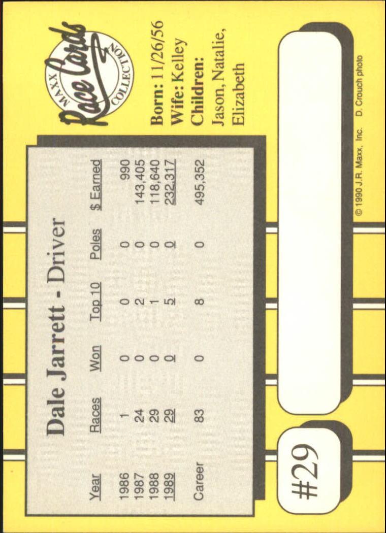 1990-Maxx-Auto-Racing-Cards-1-200-Rookies-A2695-You-Pick-10-FREE-SHIP thumbnail 59