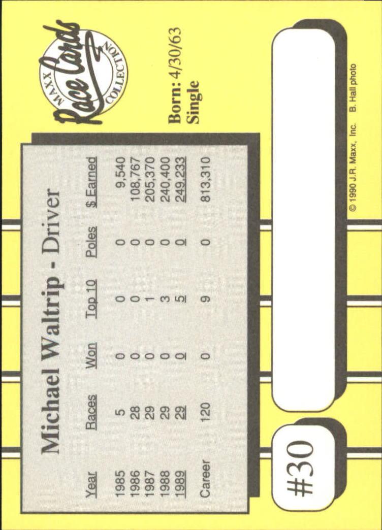 1990-Maxx-Auto-Racing-Cards-1-200-Rookies-A2695-You-Pick-10-FREE-SHIP thumbnail 61