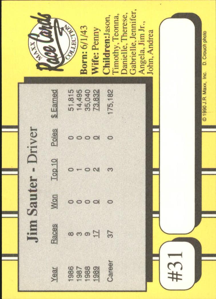 1990-Maxx-Auto-Racing-Cards-1-200-Rookies-A2695-You-Pick-10-FREE-SHIP thumbnail 63
