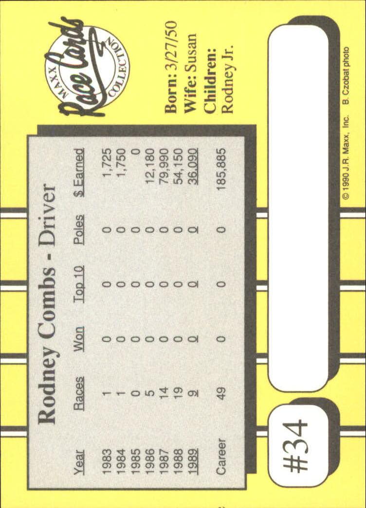 1990-Maxx-Auto-Racing-Cards-1-200-Rookies-A2695-You-Pick-10-FREE-SHIP thumbnail 69
