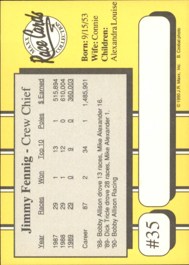 1990-Maxx-Auto-Racing-Cards-1-200-Rookies-A2695-You-Pick-10-FREE-SHIP thumbnail 71