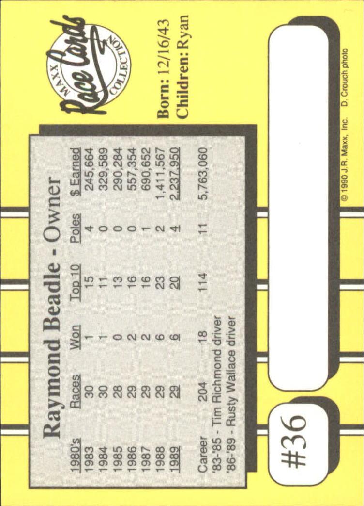 1990-Maxx-Auto-Racing-Cards-1-200-Rookies-A2695-You-Pick-10-FREE-SHIP thumbnail 73