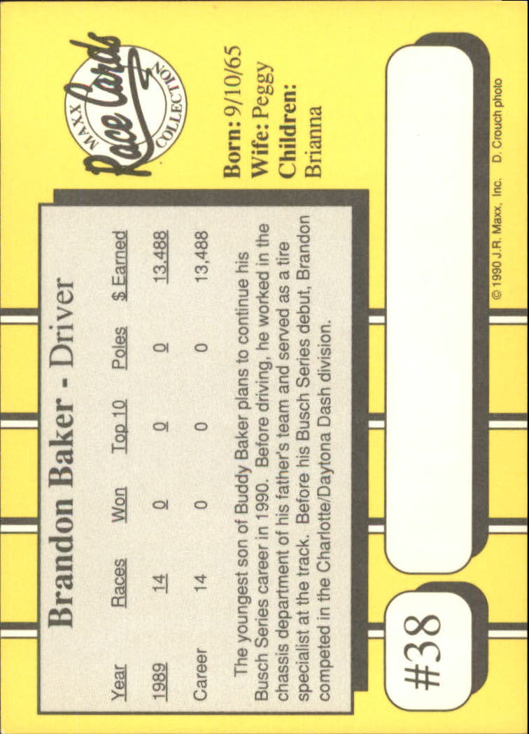 1990-Maxx-Auto-Racing-Cards-1-200-Rookies-A2695-You-Pick-10-FREE-SHIP thumbnail 77