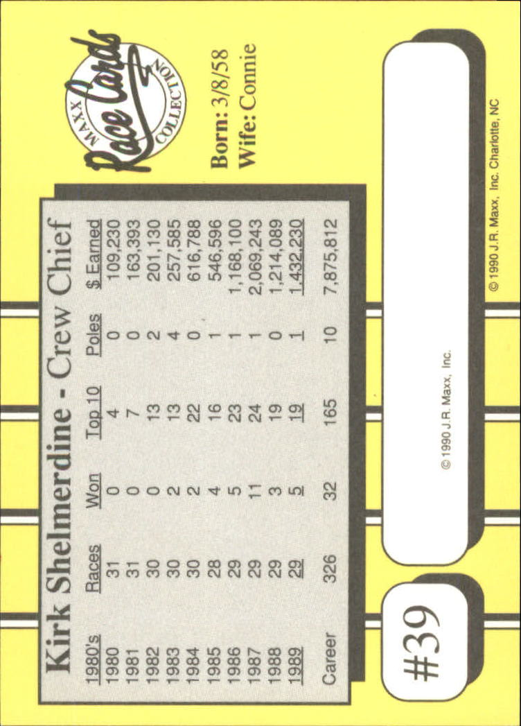 1990-Maxx-Auto-Racing-Cards-1-200-Rookies-A2695-You-Pick-10-FREE-SHIP thumbnail 79