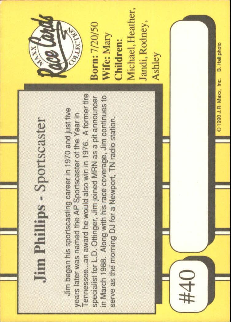 1990-Maxx-Auto-Racing-Cards-1-200-Rookies-A2695-You-Pick-10-FREE-SHIP thumbnail 81