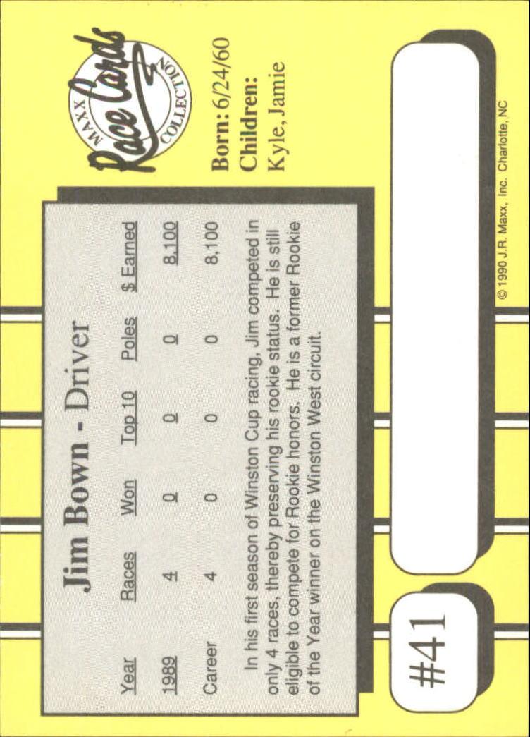 1990-Maxx-Auto-Racing-Cards-1-200-Rookies-A2695-You-Pick-10-FREE-SHIP thumbnail 83