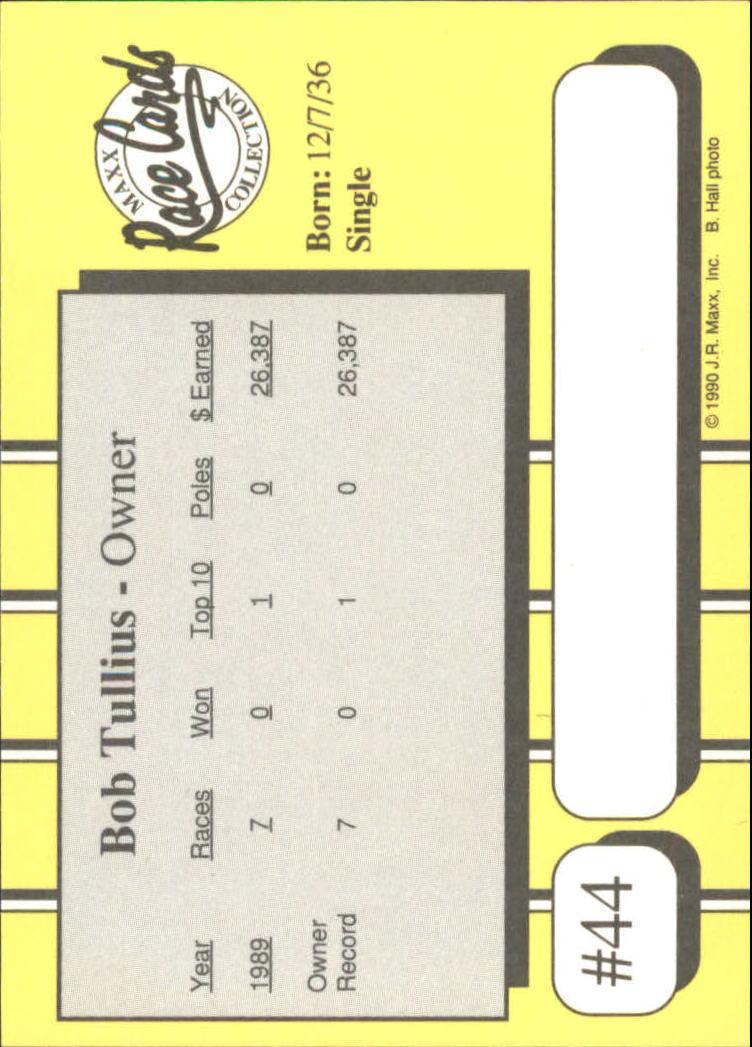 1990-Maxx-Auto-Racing-Cards-1-200-Rookies-A2695-You-Pick-10-FREE-SHIP thumbnail 89