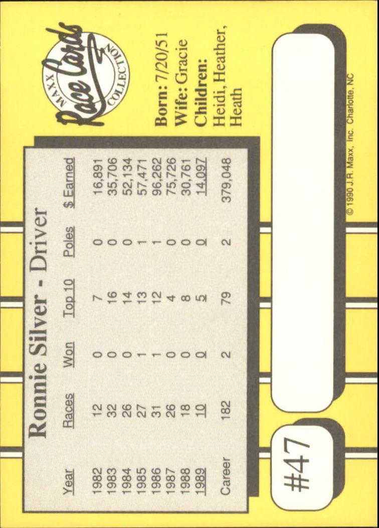 1990-Maxx-Auto-Racing-Cards-1-200-Rookies-A2695-You-Pick-10-FREE-SHIP thumbnail 95