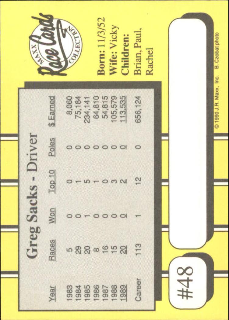 1990-Maxx-Auto-Racing-Cards-1-200-Rookies-A2695-You-Pick-10-FREE-SHIP thumbnail 97
