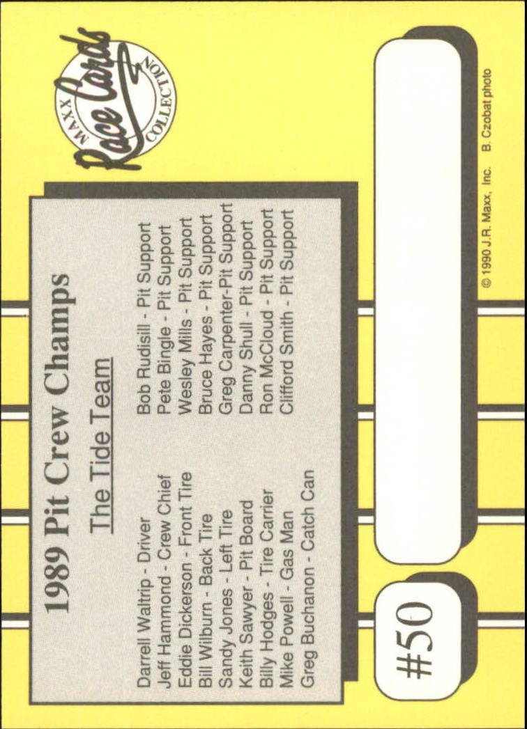 1990-Maxx-Auto-Racing-Cards-1-200-Rookies-A2695-You-Pick-10-FREE-SHIP thumbnail 101