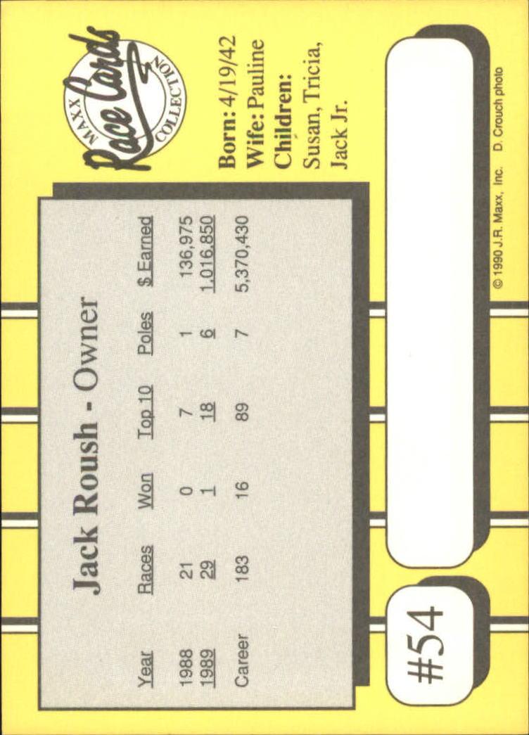 1990-Maxx-Auto-Racing-Cards-1-200-Rookies-A2695-You-Pick-10-FREE-SHIP thumbnail 109