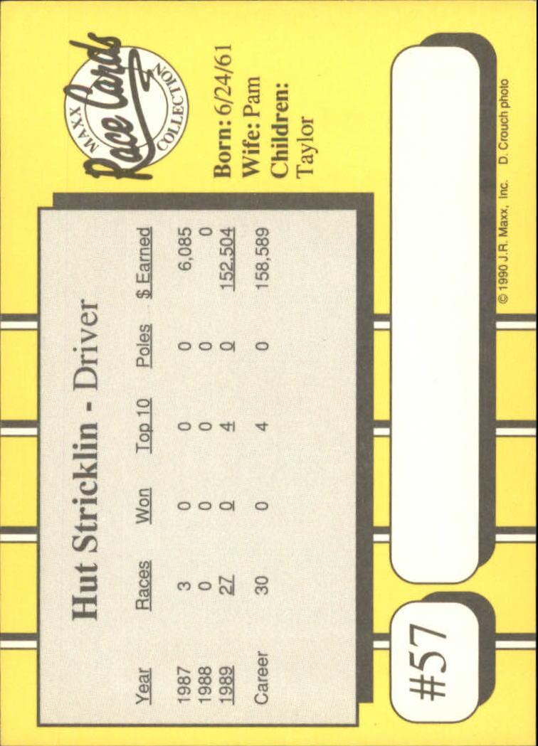 1990-Maxx-Auto-Racing-Cards-1-200-Rookies-A2695-You-Pick-10-FREE-SHIP thumbnail 115