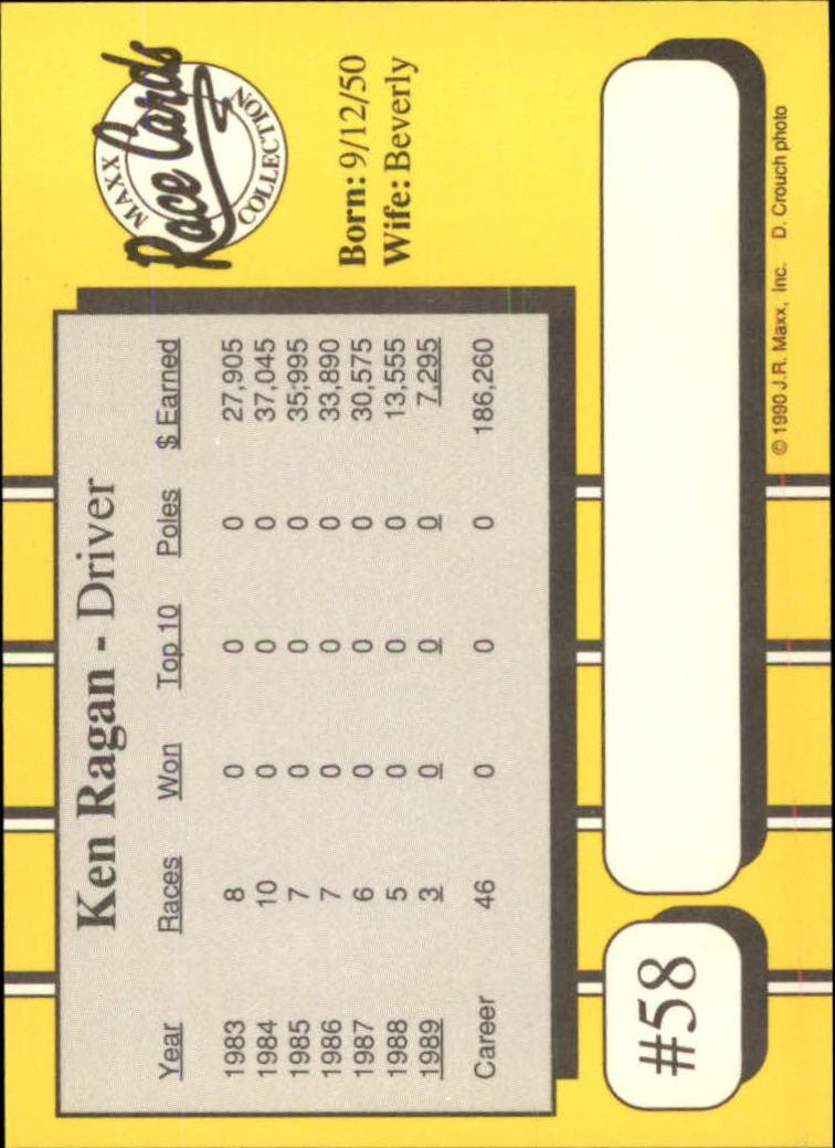 1990-Maxx-Auto-Racing-Cards-1-200-Rookies-A2695-You-Pick-10-FREE-SHIP thumbnail 117