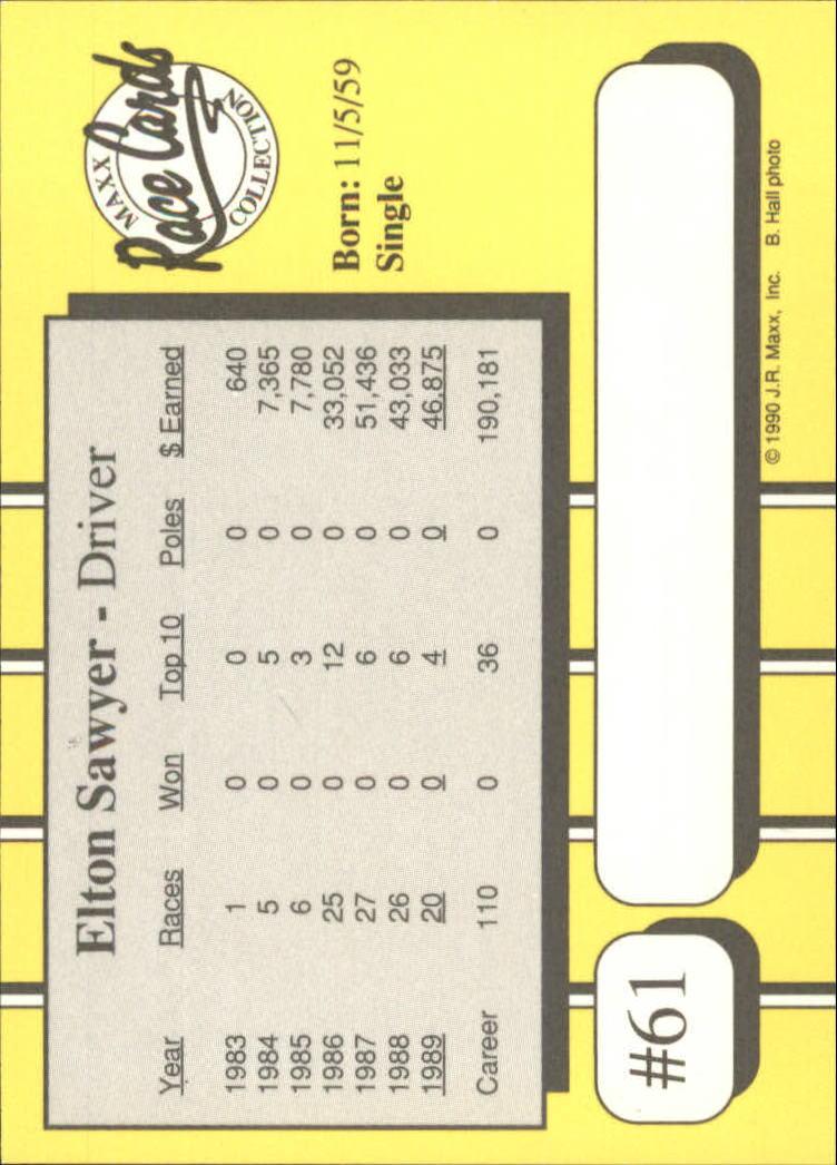 1990-Maxx-Auto-Racing-Cards-1-200-Rookies-A2695-You-Pick-10-FREE-SHIP thumbnail 123