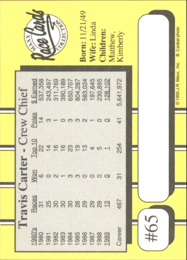 1990-Maxx-Auto-Racing-Cards-1-200-Rookies-A2695-You-Pick-10-FREE-SHIP thumbnail 131