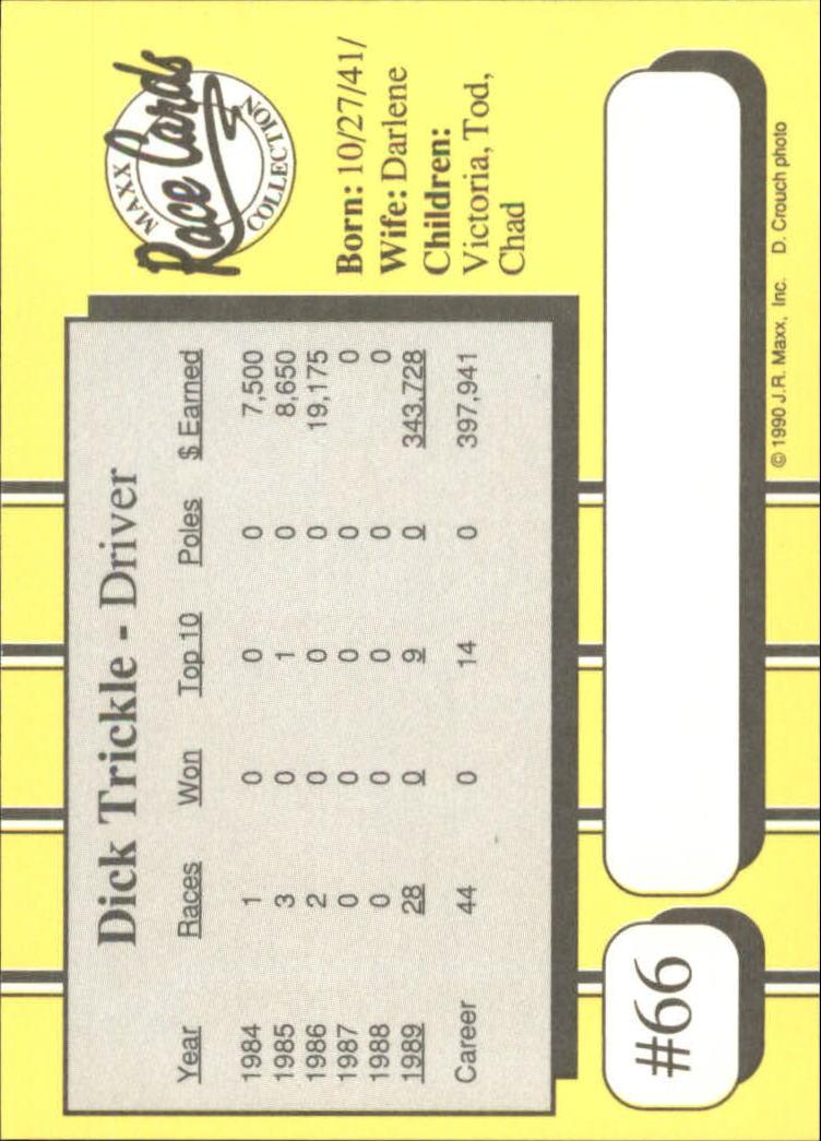 1990-Maxx-Auto-Racing-Cards-1-200-Rookies-A2695-You-Pick-10-FREE-SHIP thumbnail 133
