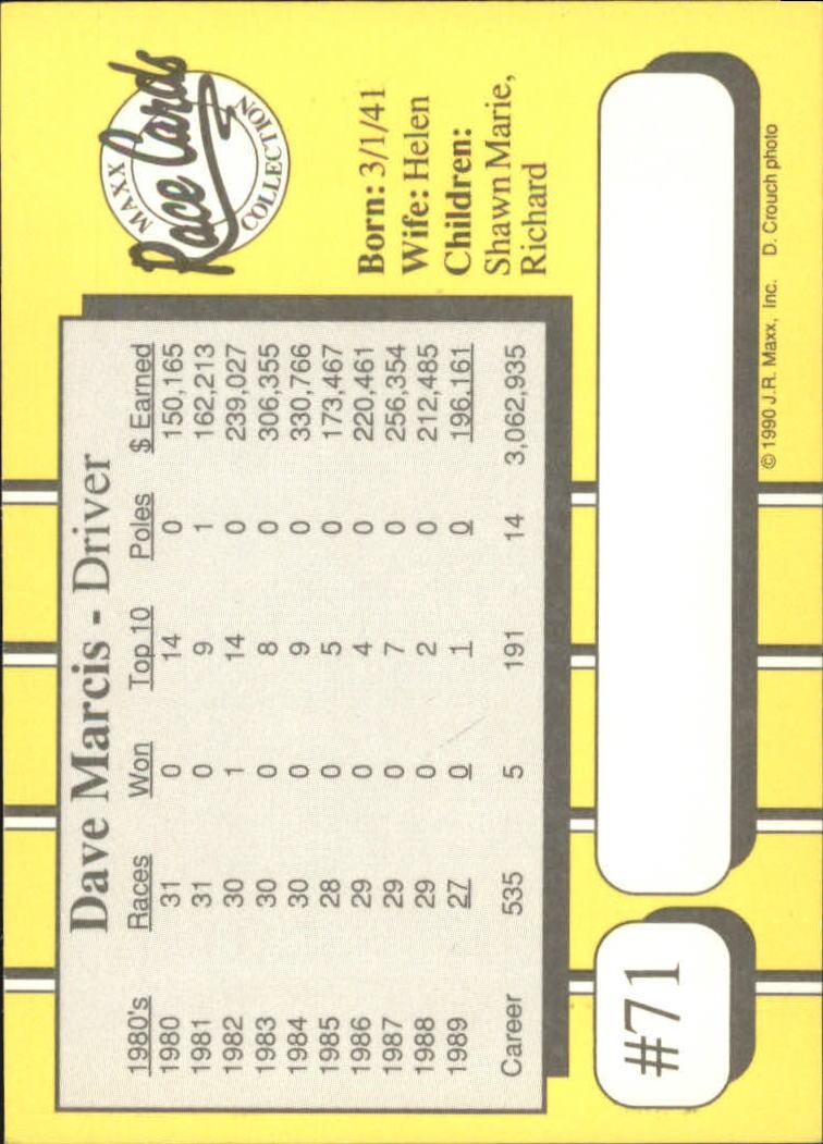 1990-Maxx-Auto-Racing-Cards-1-200-Rookies-A2695-You-Pick-10-FREE-SHIP thumbnail 143