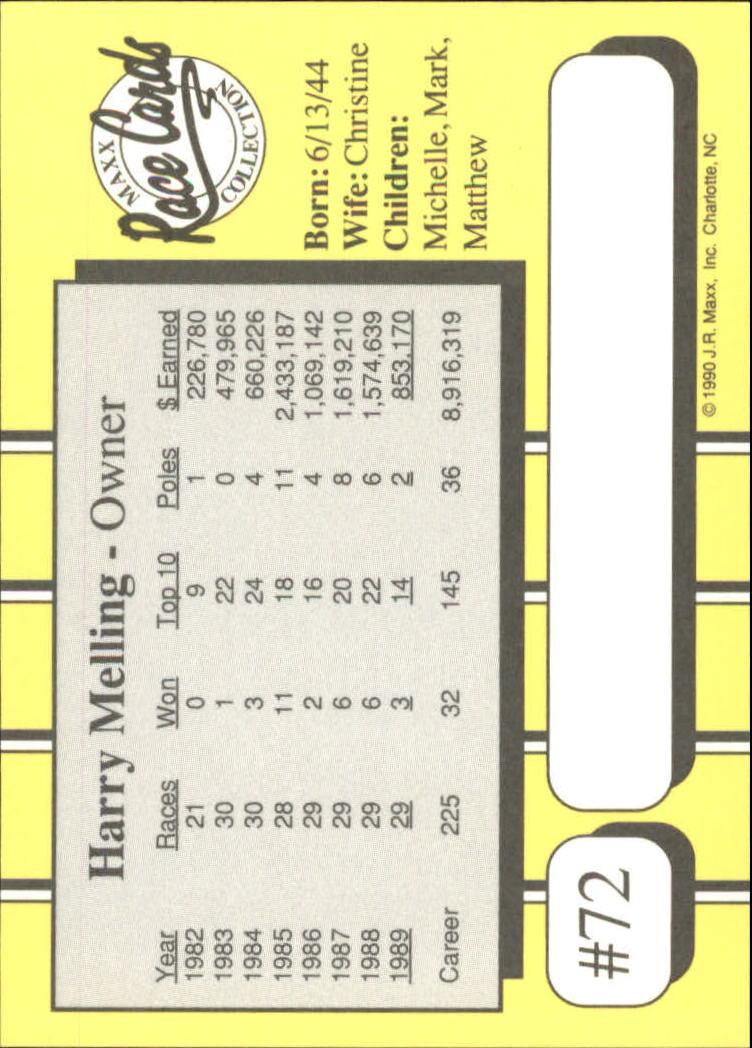 1990-Maxx-Auto-Racing-Cards-1-200-Rookies-A2695-You-Pick-10-FREE-SHIP thumbnail 145