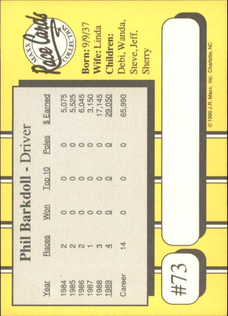 1990-Maxx-Auto-Racing-Cards-1-200-Rookies-A2695-You-Pick-10-FREE-SHIP thumbnail 147