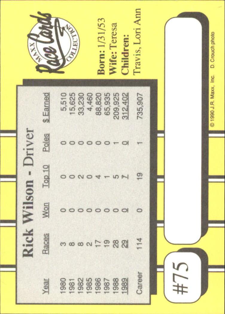 1990-Maxx-Auto-Racing-Cards-1-200-Rookies-A2695-You-Pick-10-FREE-SHIP thumbnail 151