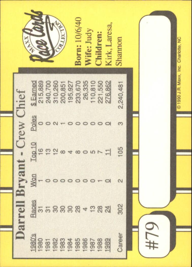 1990-Maxx-Auto-Racing-Cards-1-200-Rookies-A2695-You-Pick-10-FREE-SHIP thumbnail 159