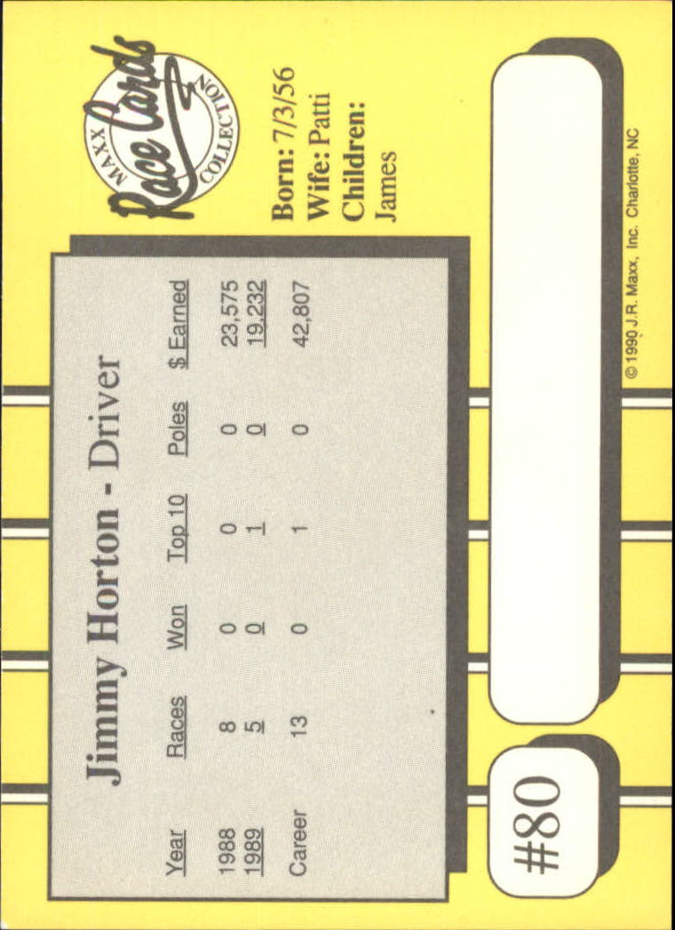 1990-Maxx-Auto-Racing-Cards-1-200-Rookies-A2695-You-Pick-10-FREE-SHIP thumbnail 161