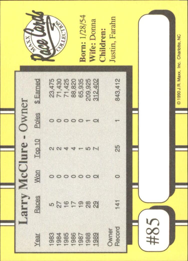 1990-Maxx-Auto-Racing-Cards-1-200-Rookies-A2695-You-Pick-10-FREE-SHIP thumbnail 171