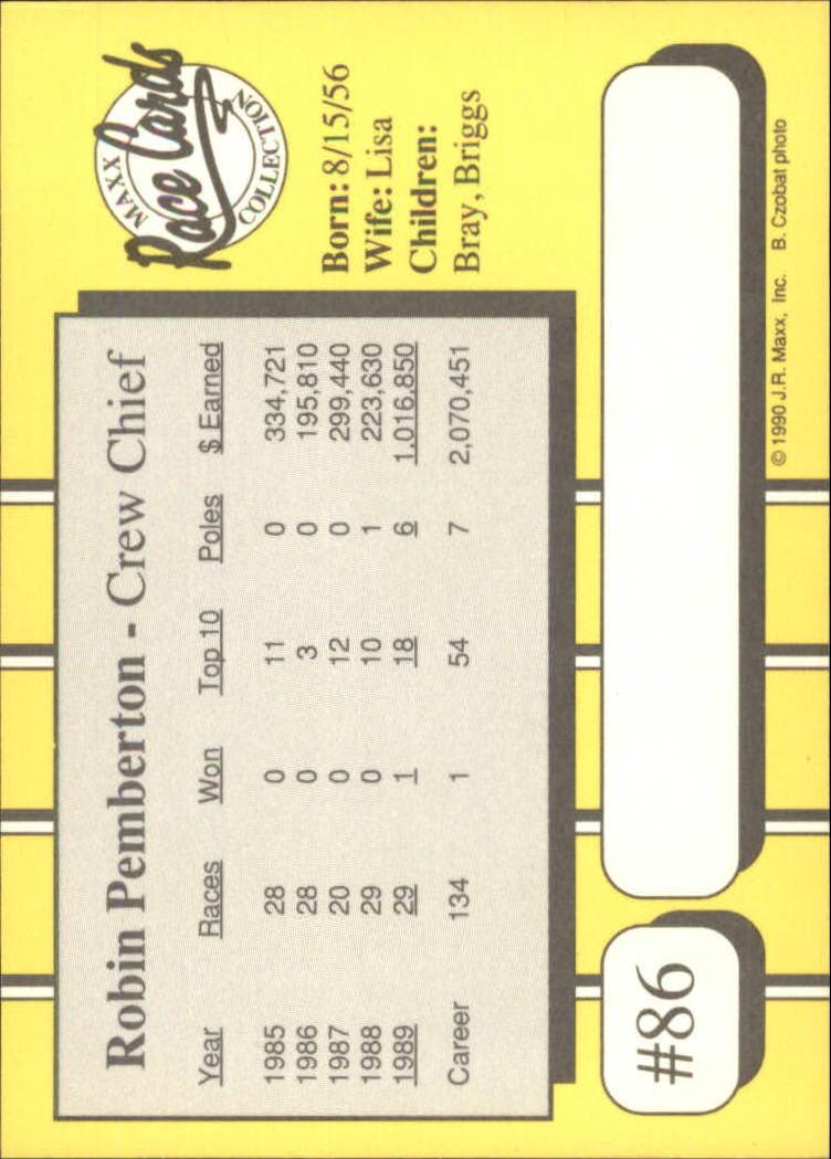 1990-Maxx-Auto-Racing-Cards-1-200-Rookies-A2695-You-Pick-10-FREE-SHIP thumbnail 173