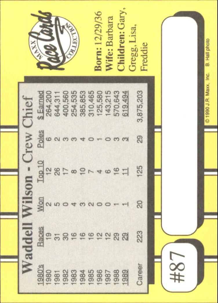 1990-Maxx-Auto-Racing-Cards-1-200-Rookies-A2695-You-Pick-10-FREE-SHIP thumbnail 175