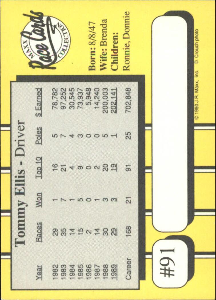 1990-Maxx-Auto-Racing-Cards-1-200-Rookies-A2695-You-Pick-10-FREE-SHIP thumbnail 183
