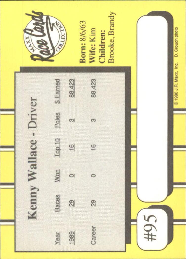 1990-Maxx-Auto-Racing-Cards-1-200-Rookies-A2695-You-Pick-10-FREE-SHIP thumbnail 191